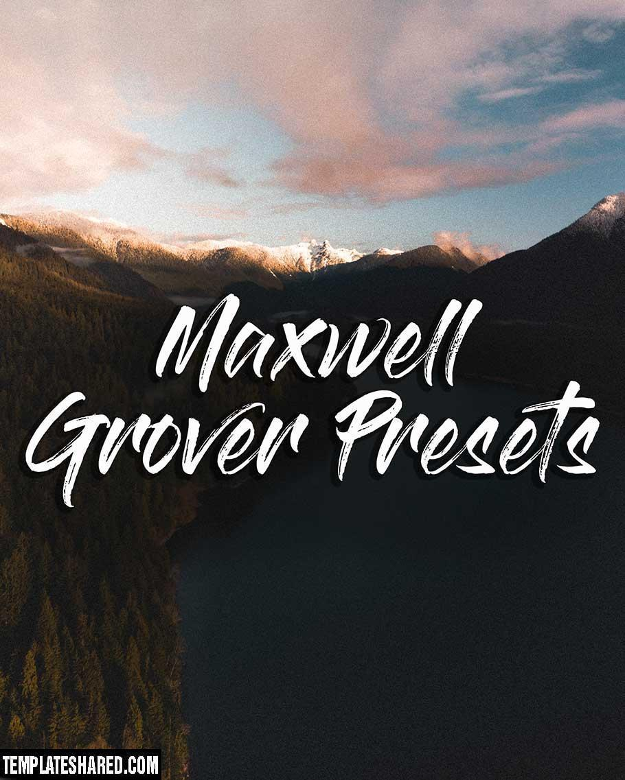 Maxwell Grover Vibes Preset Pack