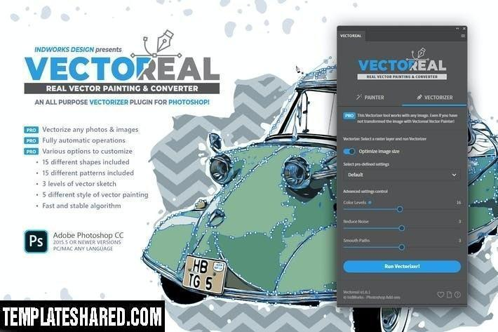 Real Vector Painting Converter Ps Plugin