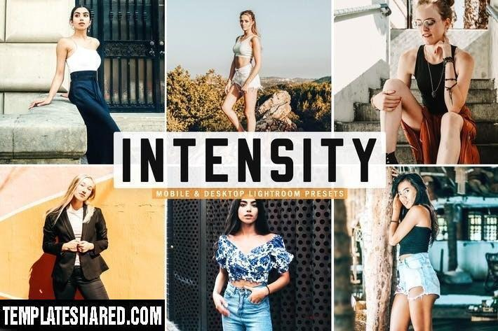 Intensity Mobile Desktop Lightroom Presets