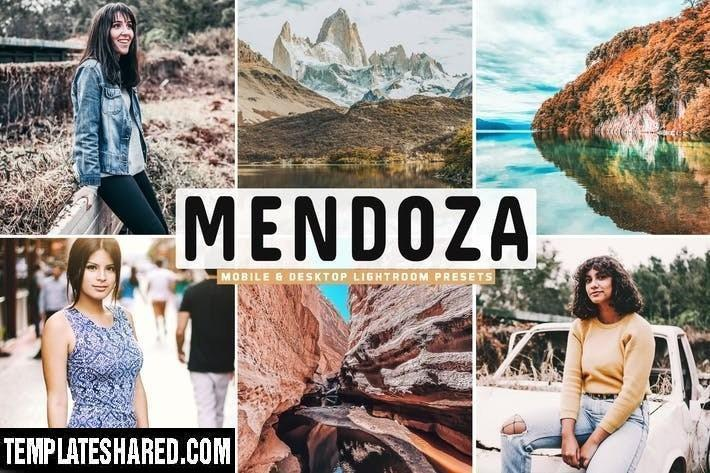 Mendoza Mobile Desktop Lightroom Presets