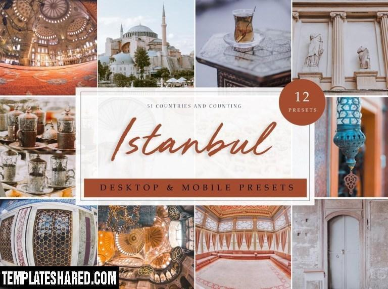 12 X Lightroom Presets Istanbul 3912143