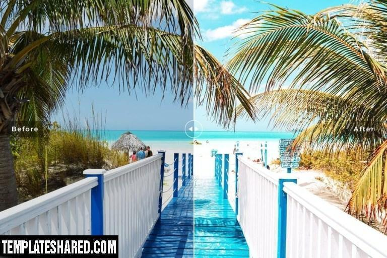 Jamaica Mobile Desktop Lightroom Presets 1