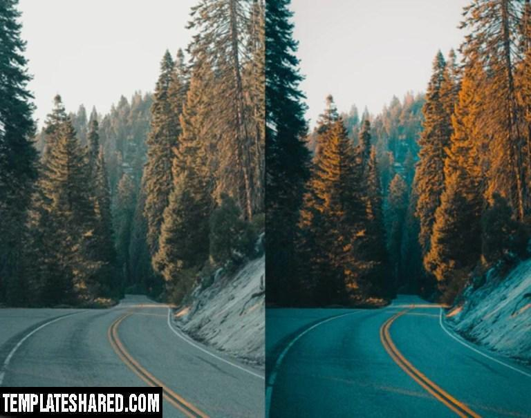 Orange Teal Lightroom Presets 28339245