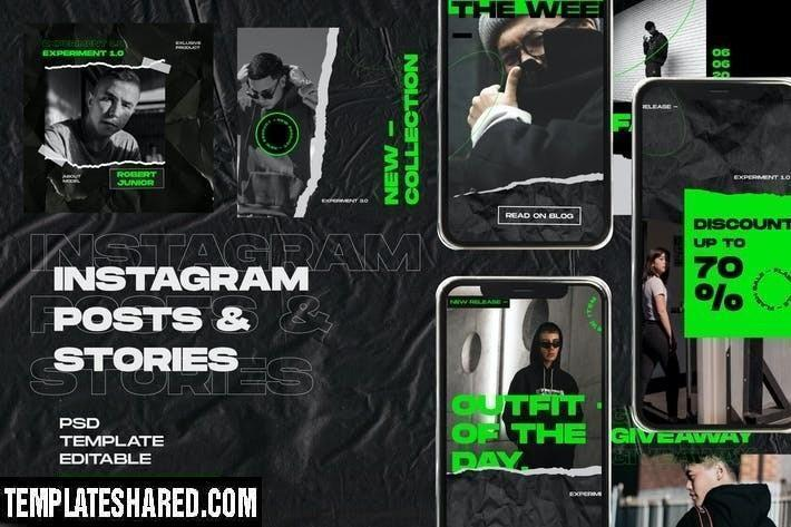 Project Instagram Post And Stories 5ww6266